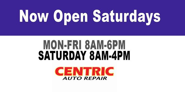 Centric Auto Repair shared their photo