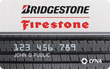we NOW accept Bridgestone & Firestone Credit cards! 6 Months 0% interest – Why…